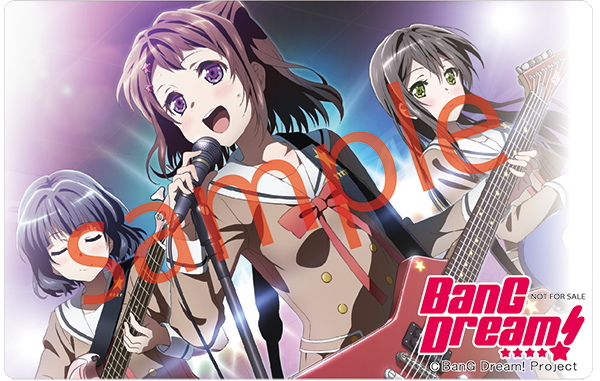 BangDream Pass Case Sample